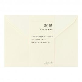 Envelopes MD Cream 118x168 mm