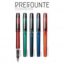 Platinum Prefounte Fountain Pen Dark Emerald