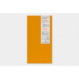 Wkład do Traveler's Noteboook 2021 Tygodniowy Wertykalny