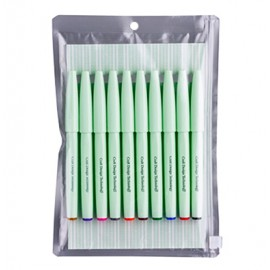 CDT Brush Sign Pen 10-Pack Assorted Colors