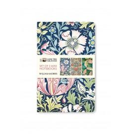 Zestaw 3 notatników William Morris