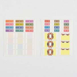 Naklejki Hobonichi Index Stickers