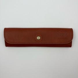 Piórnik Life Leather Pen Case Brązowy