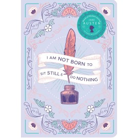 Jane Austen Words of Wisdom Journal