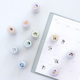 Pieczątka ICONIC Haru Diary Stamp Yeah