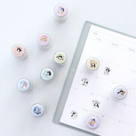 Pieczątka ICONIC Haru Diary Stamp GO GO