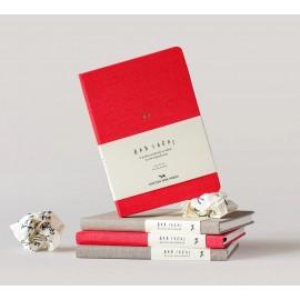 Notatnik Bad Ideas Red w linie