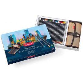 Zestaw kredek Derwent Procolour 24 kolory Wrap Set