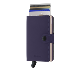 Portfel SECRID Miniwallet Matte Purple Rose