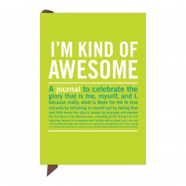 Knock Knock I'm Kind of Awesome Journal A6