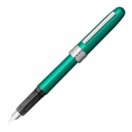 Platinum Plaisir Fountain Pen Teal Green