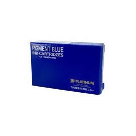 Naboje atramentowe Platinum Pigment Blue 10 sztuk