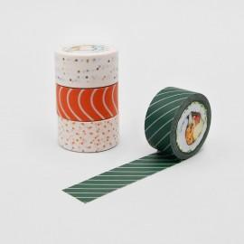 Zestaw taśm washi SUCK UK Sushi Tape