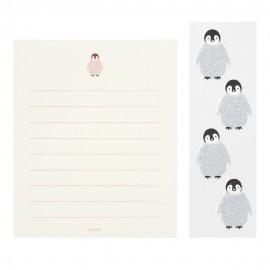 Letter Set 304 with Sticker Penguin
