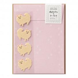 Letter Set 760 with Sticker Pomeranian