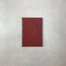 Bomo Art Full Leather Bound Journal Owl