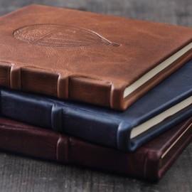 Notatnik Bomo Art Full Leather Bound Journal Balon