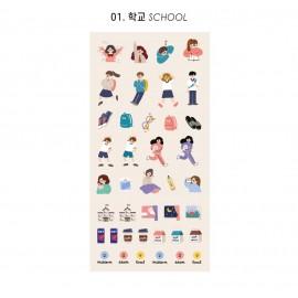 Naklejki ICONIC Haru Today Mini Removable Sticker