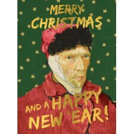 Santoro Christmas Card Happy New 'Ear