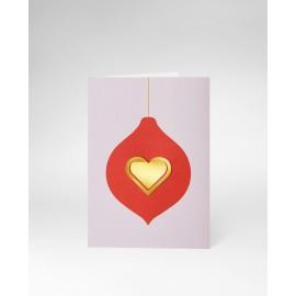 OCTAEVO Christmas Card Heart
