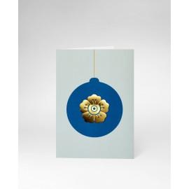 OCTAEVO Christmas Card Flower