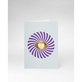 OCTAEVO Greeting Card Eye
