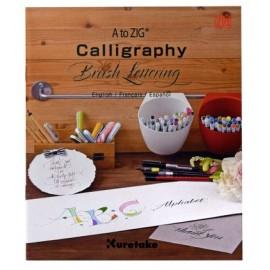 Kuretake książeczka do kaligrafii Zig Calligraphy Brush Lettering Book