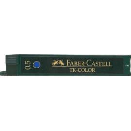 Rysiki do ołówków Faber-Castell Super-Polymer 0,5 Niebieskie