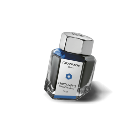 Caran D'Ache Chromatics Ink Magnetic Blue 50 ml