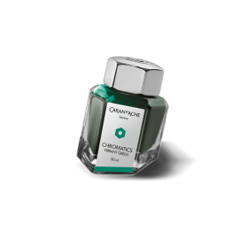 Caran D'Ache Chromatics Ink Vibrant Green 50 ml