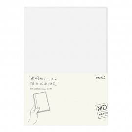 MD Paper Clear Cover for Notebooks A5