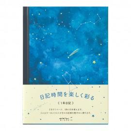 Pamiętnik Midori Night Sky