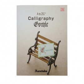 Kuretake Zig Calligraphy Gothic Book