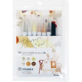 Zestaw Brush Penów Kuretake Zig Clean Color Real Brush Skandynawska Chwila