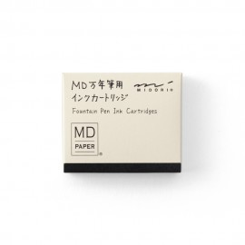 Ink Cartridge for MD Fountain Pen Black
