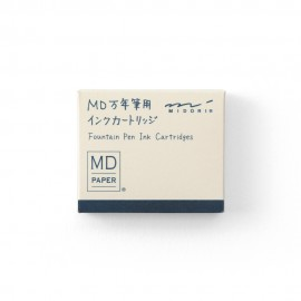 Ink Cartridge for MD Fountain Pen Blue-Black