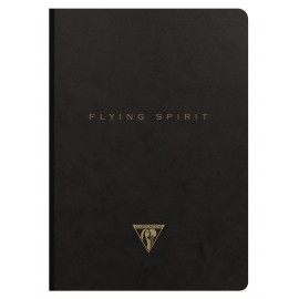 Notatnik Clairefontaine Flying Spirit Black A5