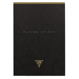 Paper Pad with perforation Clairefontaine Flying Spirit Black A5