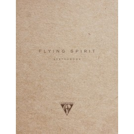 Sketchbook Clairefontaine Flying Spirit Kraft A5