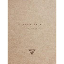Szkicownik Clairefontaine Flying Spirit Kraft A5