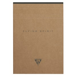 Papar Pad with perforation Clairefontaine Flying Spirit Kraft A5