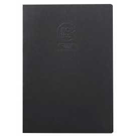 Sketchbook Clairefontaine Crok' Book Black A4