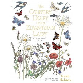 The Country Diary of an Edwardian Lady Coloring Book