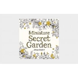 Miniature Secret Garden Coloring Book