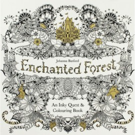 Kolorowanka Enchanted Forest An Inky Quest and Colouring Book