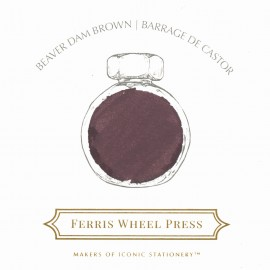 Ferris Wheel Press Beaver Dam Brown Ink 38 ml