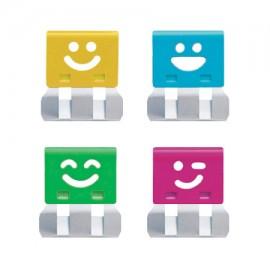 Klipsy do papiery OHTO Smile Slide Clipper L