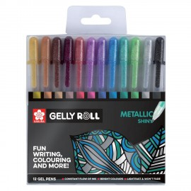 Sakura Gelly Roll Pen Metallic Shine