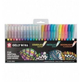 Sakura Gelly Roll Pen 24 pieces