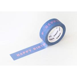 ICONIC Masking Tape Happy Birthday